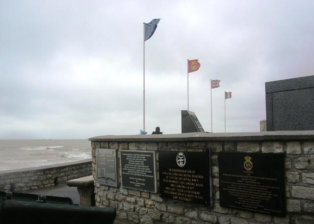 RAF Beach Squadrons plaque location